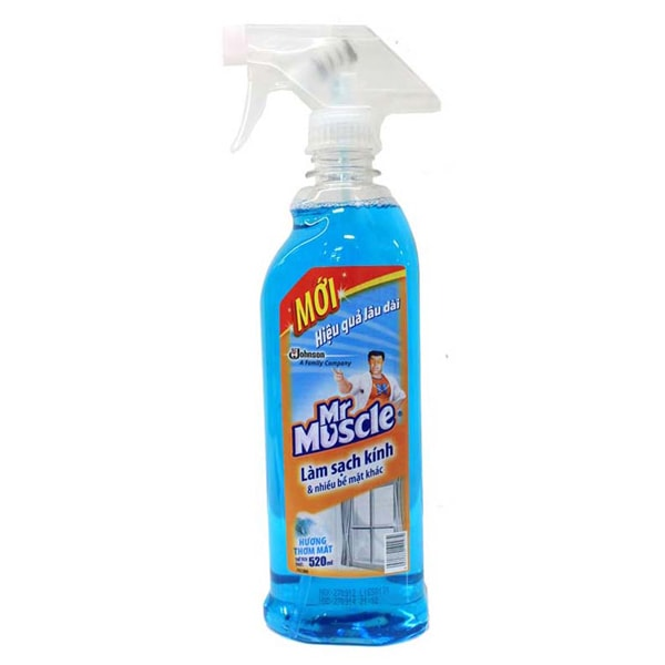 mr muscle glass cleaner review