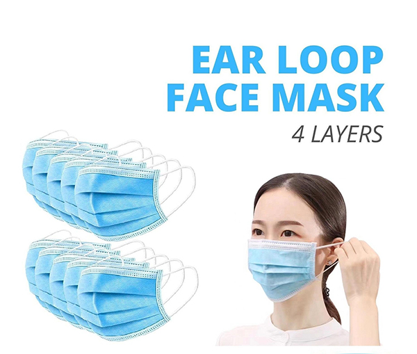 Medical facial mask with CE standard from Vietnam