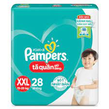 Pampers Baby Pants XXL28 (15-25kg)